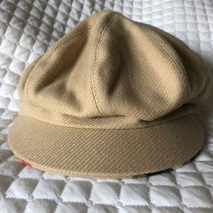 e8d3efc8c57 EUC Burberry Wool Cashmere Newsboy Hat